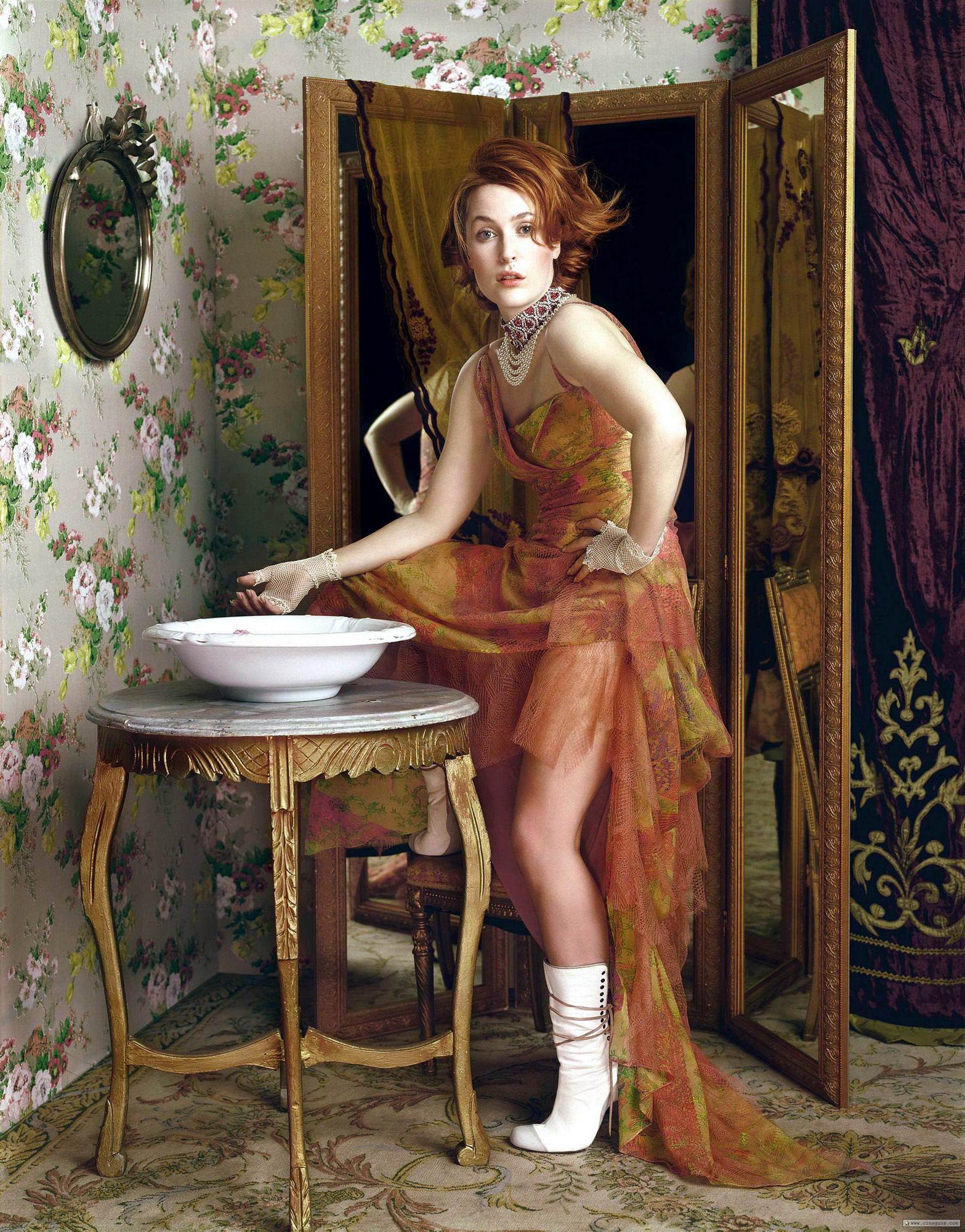 Джилиан Андерсон (Gillian Anderson) .
